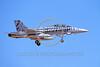 F-18USMC-VMFA(AW)-224 0002 A landing McDonnell Douglas F-18D Hornet USMC 164884 VMFA(AW)-224 BENGALS commanding officer's airplane by Peter J Mancus