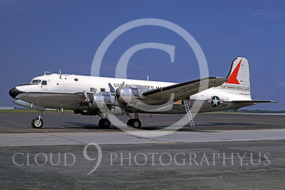 C-118USMC 00005 Douglas R5D Skymaster USMC Fleet Marine Force Atlantic July 1968 by Frank MacSorley