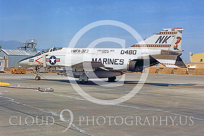 COP 00002 McDonnell Douglas F-4N Phantom II VMFA-323 by Peter J Mancus
