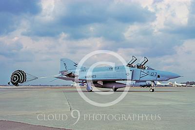 CHUTE 00097 McDonnell Douglas RF-4 Phantom II USMC VMFP-3 by Carl E Porter