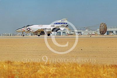 CHUTE 00092 McDonnell Douglas F-4 Phantom II USMC VMFA-112 by Peter J Mancus