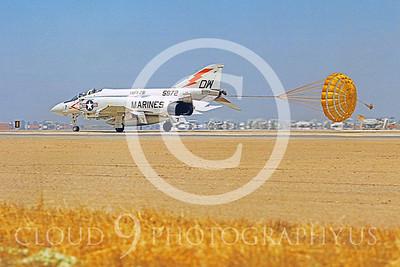 CHUTE 00093 McDonnell Douglas F-4 Phantom II USMC VMFA-251 by Peter J Mancus