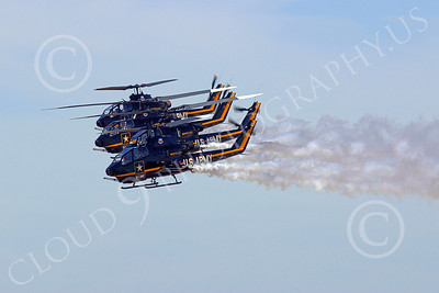 HM-AH-1USA 00002 A US Army Bell AH-1 Cobra helicopter flight demonstrean team, military helicopter picture, by Tim Perkins