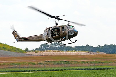 H-1USA 00002 A landing Bell H-1 Iroquois Huey US Army military helicopter picture by Peter J Mancus
