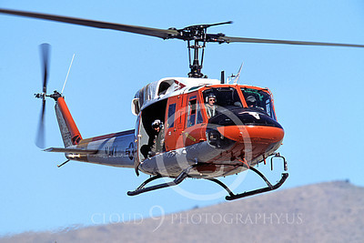 H-1USN 00002 A flying Bell H-1 Iroquois Huey US Navy NAS Fallon helicopter picture by Peter J Mancus