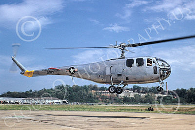 Bell YH-12B 00002 A flying Bell YH-12B USAF helicopter picture by Warren D Shipp
