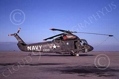 HU2K-USN 00001 A static Kaman HU2K Seasprite USN NAS Lemoore 3-1971 helicopter picture by Peter B Lewis