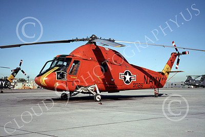 UH-2A-USN 00001 A static Kaman UH-2A Seasprinte USN helicopter NAS North Island 1-1968 by Clay Jansson