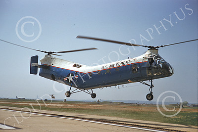 H-21USAF 00004 A flying Piasecki H-21 Work Horse USAF helicopter picture by Warren D Shipp