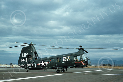 HUP-USN 00003 A static Piasecki HUP Retriever USN helicopter picture 2-1961 by W T Larkins