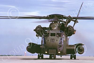 CH-53EUSMC 00069 A static Sikorsky CH-53E Super Stallion USMC MCAS Yuma 3-1985 helicopter picture by Peter J Mancus
