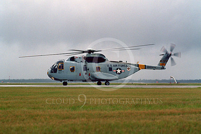 H-3USAF 00001 A taxing Sikorsky HH-3 USAF helocopter Tyndall AFB 10-1982 helicopter picture by Peter J Mancus