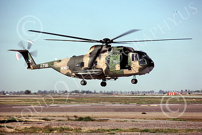H-3USAF 00008 A hoovering Sikorsy HH-3 Jolly Green Giant Luke AFB 4-1990 helicopter picture by Peter J Mancus