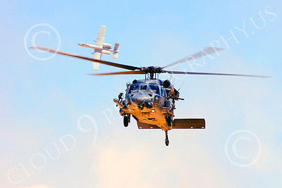 H-60USAF 00066 A flying Sikorsky HH-60 Pave Hawk USAF helicopter picture 8-2005 by Peter J Mancus