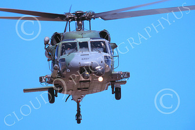 H-60USAF 00024 A flying Sikorsky HH-60 Pave Hawk USAF 6-2002 helicopter picture by Peter J Mancus