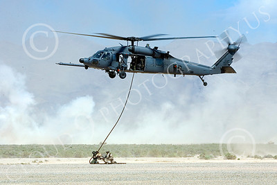 H-60USAF 00082 A flying Sikorsky HH-60 Pave Hawk USAF helicopter picture 8-2005 by Peter J Mancus
