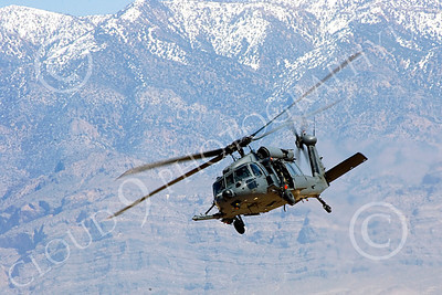 H-60USAF 00064 A flying Sikorsky HH-60 Pave Hawk USAF helicopter picture 8-2005 by Peter J Mancus