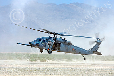H-60USAF 00078 A flying Sikorsky HH-60 Pave Hawk USAF helicopter picture 8-2005 by Peter J Mancus