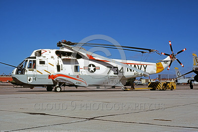 SH-3USN-HS-4 001 A static Sikorsky SH-3H Sea King USN 149923 anti-submarine warfare HS-4 BLACK KNIGHTS USS Ranger NAS North Island 2-1979 military helicopter picture by Michael Grove, Sr      DONEwt