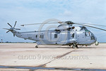 SH-3USN-HS-1 001 A static low viz gray Sikorsky SH-3H Sea King USN anti-submarine warfare helicopter148052 HS-1 SEAHORSE NAF Washington 7-1994 military helicopter picture by Michael Grove, S ...