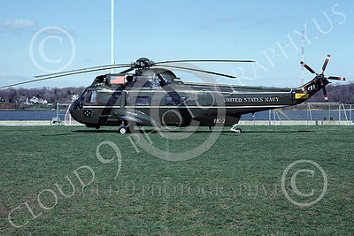 SH-3USN 00017 A static Sikorsky SH-3H Sea King USN 150613 HC-2 FLEET ANGELS 4-1993 by Clark Keyes