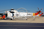 SH-3USN-PaxRiv 001 A static Sikorsky SH-3D Sea King USN 152696 NAS Pax River 10-1985 military helicopter picture by Ray R Leader     DONEwt