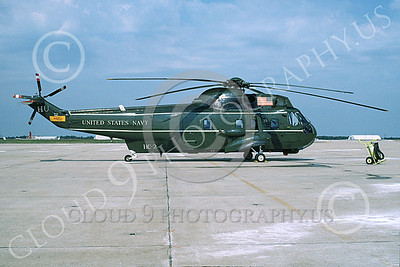 SH-3USN 00025 A static Sikorsky VH-3A Sea King USN 150610 HC-2 FLEET ANGELS 7-1991 by Jessie Arden