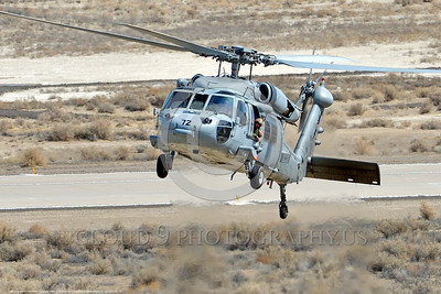 MH-60-USN 0018 A low visibility gray color scheme Sikorsky MH-60S Seahawk USN multi-mission helicopter NAWDC prepares to land at NAS Fallon 3-2017 military helicopter picture by Peter J Mancus     DONEwt