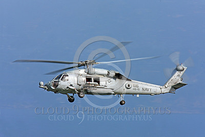 HM - SH-60USN 00022 A flying US Navy Sikorsky SH-60 Seahawk assigned to HS-15 military helicopter picture, by Peter J Mancus