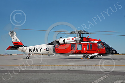 HM - SH-60USN 00001 A colorful US Navy Sikorsky SH-60 Seahawk SAR Search and Rescue helicopter, 165760, assigned to NAS Fallon, miliary helicopter picture, by Peter J Mancus