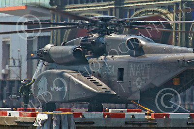 MH-53EUSN 00006 US Navy Sikorsky MH-53E Sea Dragon mine sweeping helicopter of squadron HM-14 VANGUARD, at New York harbor, by John G Lomba
