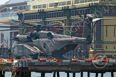 MH-53EUSN 00005 US Navy Sikorsky MH-53E Sea Dragon mine sweeping helicopter at New York harbor, by John G Lomba