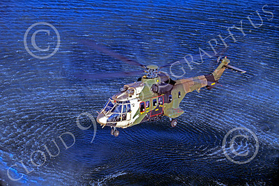 Puma 00003 A hoovering Aerospatiale SA330 Puma Turkish Air Force helicopter picture by Soner Capoglu