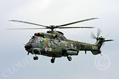 Super Puma 00004 A flying Eurocopter Super Puma Royal Netherlands Army helicopter picture 2008 by Paul Ridgway