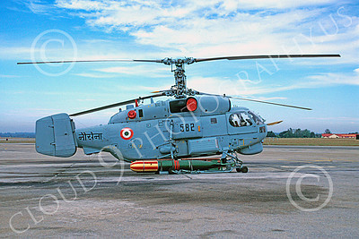 Ka-27 00001 A static Kamov Ka-27 Helix Indian Navy 12-1998 helicopter picture by Guy Castagnola