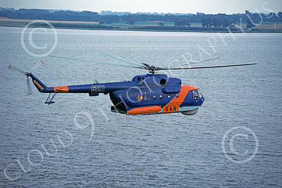 Mi-14 00002 A flying Mil Mi-14 Haze East German Air Force 8-1990 helicopter picture by Carlos Cuna