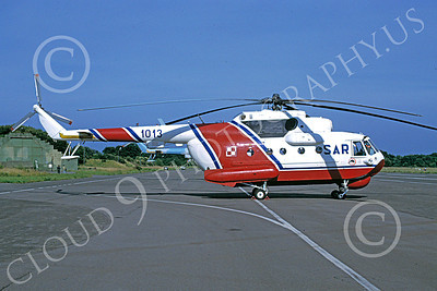 Mi-14 00003 A static Mil Mi-14 Haze Polish Air Force 7-1998 helicopter picture by Jerry Singleton