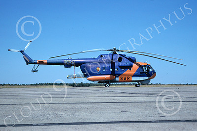 Mi-14 00001 A static Mil Mi-14 Haze East German Air Force 8-1990 helicopter picture by Jerry Singleton
