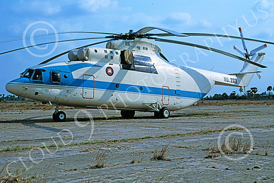 Mi-26 00001 A static Mil Mi-26 Halo Cambodian Air Force 3-2003 helicopter picture by Joseph Briggs