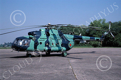 Mi-8 00011 A static Mil Mi-8 Hip Bangladesh Air Force 11-1998 helicopter picture by Joseph Jackson