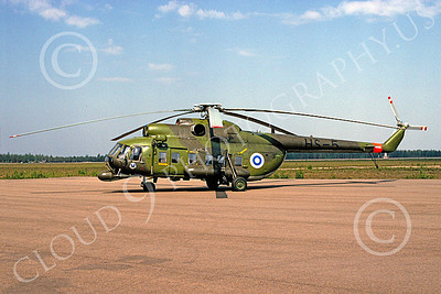 Mi-8 00001 A static Mil Mi-8 Hip Finnish Air Force 6-1999 helicopter picture by Patrick Baum