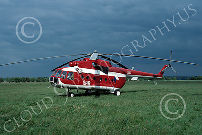 Mi-8 00013 A static Mil Mi-8 Hip Czech Air Force search and rescue helicopter picture by Wilfried Zetsche