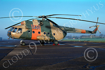 Mi-8 00005 A static Mil Mi-8 Hip German Air Force 9-2003 helicopter picture by Harold Bodenheimer