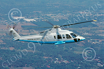 Sikorsky AUH-76 00002 A flying Sikorsky AUH-76 Philippine Air Force helicopter picture by Carlos Cuna