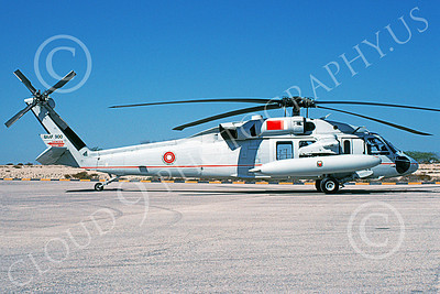 HH-60 00029 A static Sikorsky HH-60 Seahawk Bahrain Air Force 900 2-1994 military helicopter picture by P Steinemann