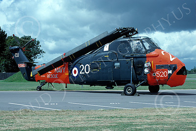 HSS-Forg 00007 A static Sikorsy HSS Seabat British Royal Navy 5-1989 helicopter picture by Wilfried Zetsche