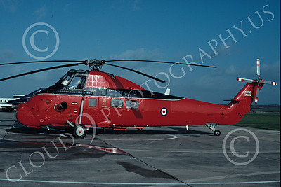 S-58Forg 00001 A static Sikorsky S-58 British Royal Air Force Queen's Flight helicopter picture by S W D Wolf