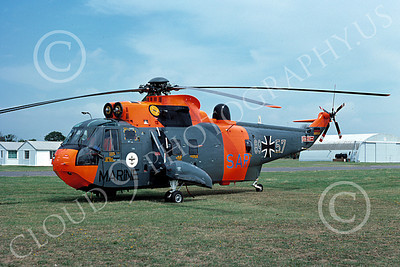 Westland Sea King 00003 A static Westland Sea King German Navy 7-1977 helicopter picture by S W D Wolf