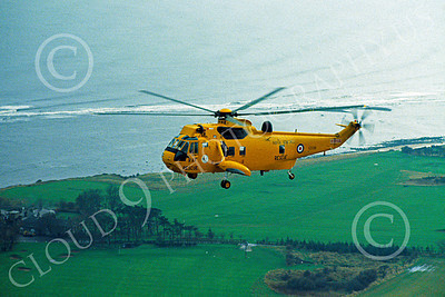 Westland Sea King 00018 A beautiful flying Westland Sea King British Royal Air Force helicopter picture by S W D Wolf