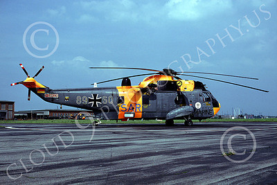 Westland Sea King 00005 A static Westland Sea King German Navy helicopter picture 7-1990 by Wilfried Zetsche